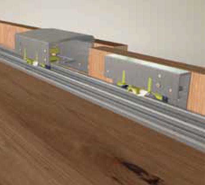 100 Kg Ayarlı Sürme Gardrop Sistemi 18-50mm
